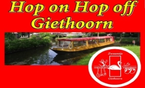 giethoorn hop on hop off sightseeing boat tours