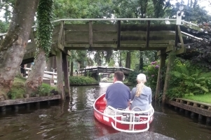 trip around Giethoorn including museumvisit